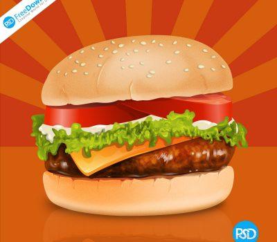 Burger PSD FreeDownload
