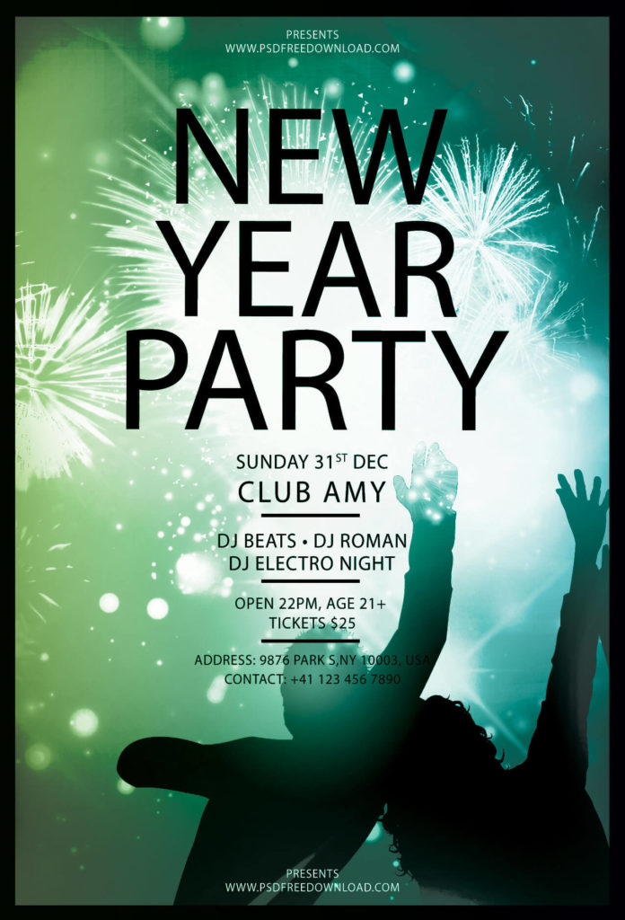Flyer, Flyr, Poster, Newyear, Geometric, Geometry, Print, Glow, Template, Skyline, City, Year, Night, Dark, Fireworks, Fire, Nye, Newyear, Firework, Psd, Printable, Download, Free, Psdfree, Flyerpsd, Graphic, Photoshop, Template, Party, Club, December, Ticket
