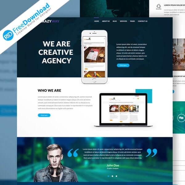 Creative-Agency-Website-Template-Free-PSD