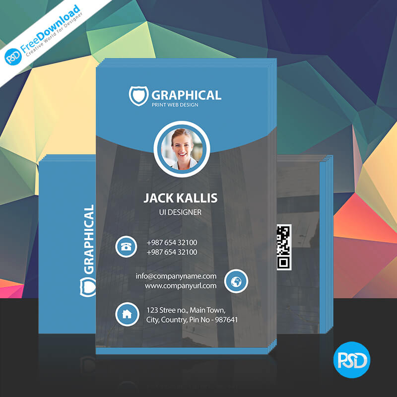 Corporate Business Card Free PSD