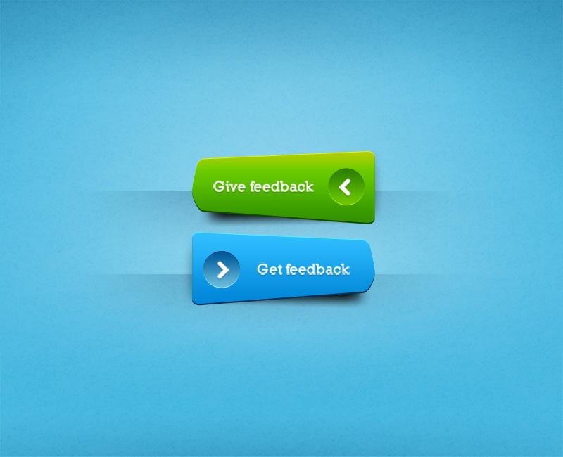 Feedback Button PSD