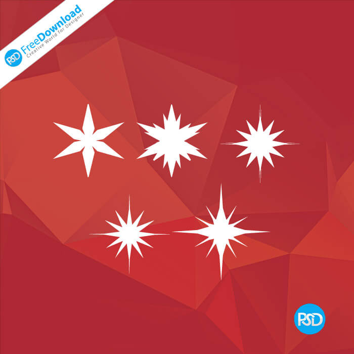 PSD stars graphic icons