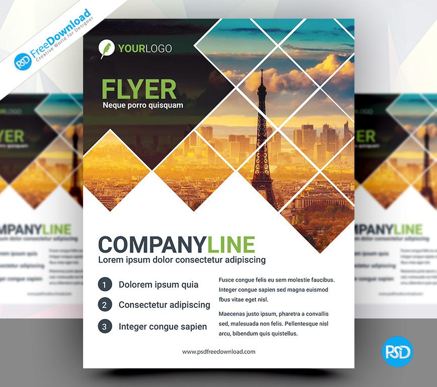 Corporate business flyer psd template psd free download brochure print freedownloadpsd freepsd cover flyer freedownload downloadpsd wajeb Gallery